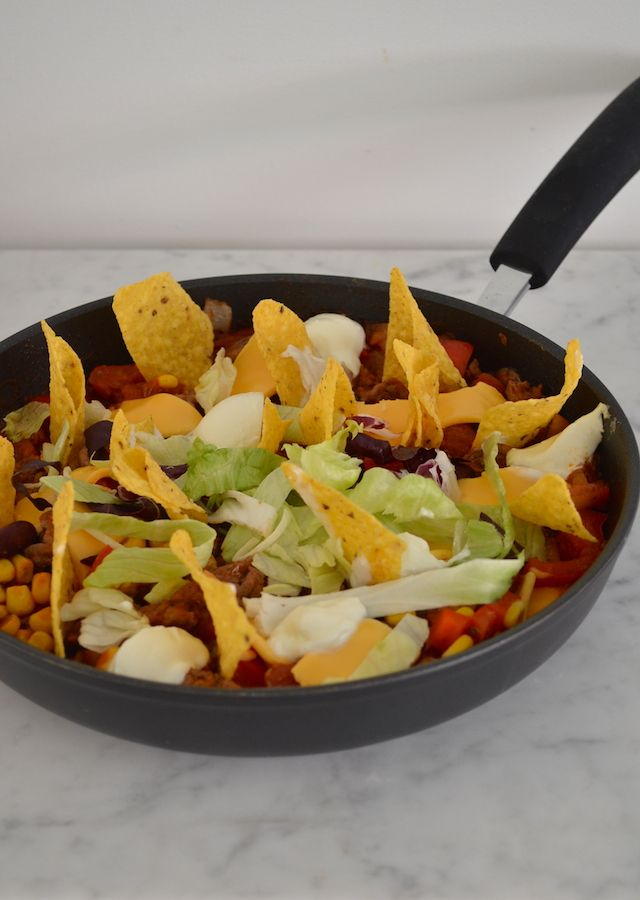 taco pannetje - taco pot #mexicanfood #onepot