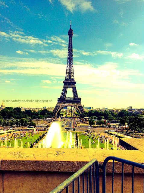 I've actually stood in this spot in Paris! :[)