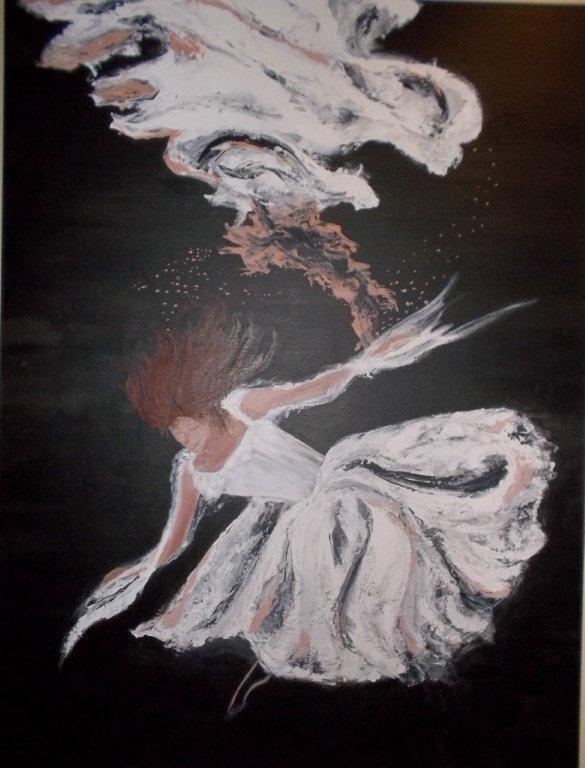 Dancer under water by Janine Lloyd