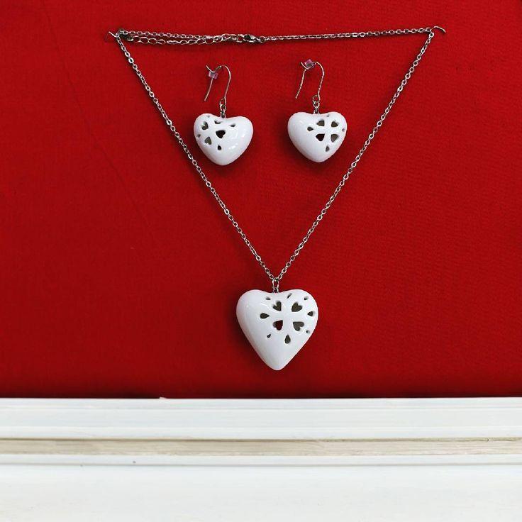 SarkaS design #valerstudio #valer #valerkarlin #autors #handmade #czechmade #porcelain #jewelry #jewellery #set