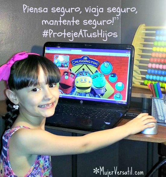 """""""Piensa seguro, viaja seguro, mantente seguro"""" #ProtejeATusHijos, es una campaña que busca enseñar a los niños a través del juego las reglas de seguridad en los autos, bicicletas, calles o autobús escolar."""