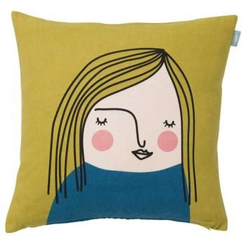 Renate face Cushion Cover 50cm