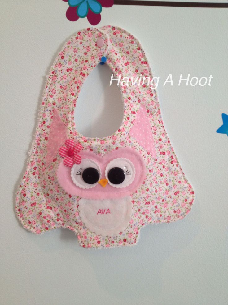 Hoot little Bib for A special Little Lady