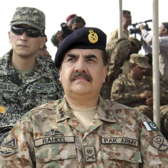 General Raheel Sharif assumed command of Pakistan's army on November 29 2013, on Prime Minister Nawaz Sharif appointing him the Chief of Army Staff (COAS).