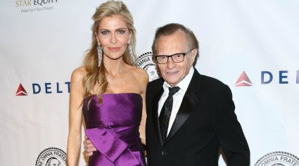 Has Larry King's wife been getting some side action?