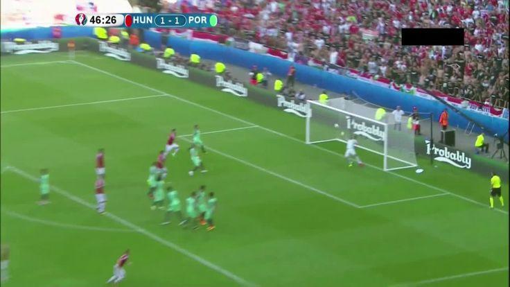 Balázs Dzsudzsák goal vs Portugal (2-1)