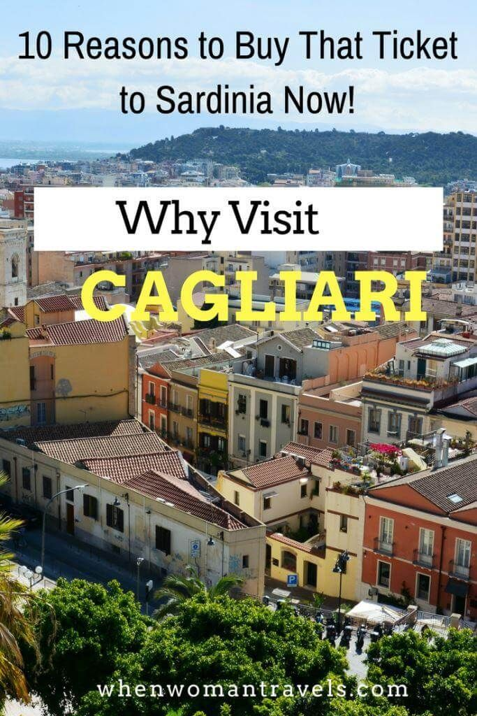 Why visit Cagliari in Sardinia? Well, you see … the thing is that all the good things you know and love about Italy, you will find here. But they are even better!