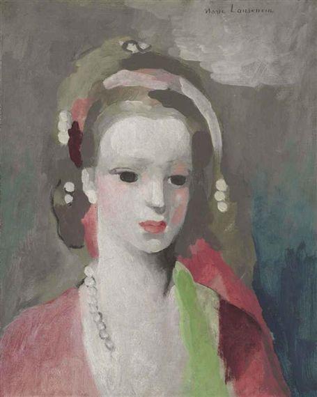 Marie Laurencin, Jeune Fille Aux Perles