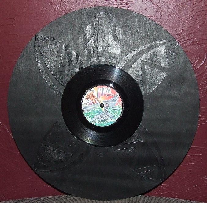 Vinyl Turtle - Chrissie Sullivan LittleTaniwha