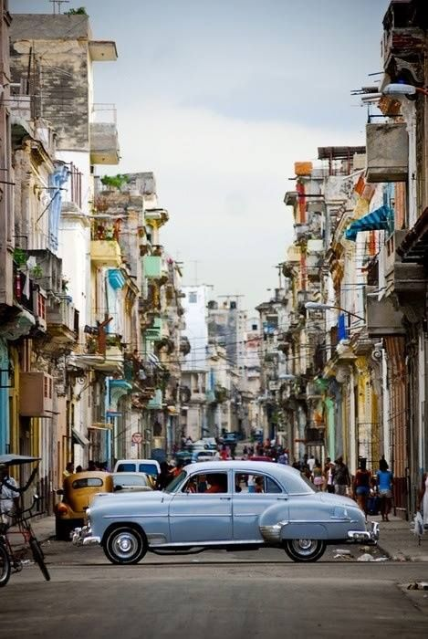 Cuba.  Totally gorgeous.