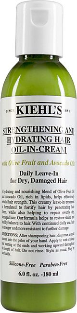 Kiehl's Since 1851 Olive Fruit Oil Damage Control - Hair Treatment - 501856970