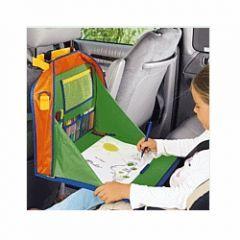 tablette pour dessiner dans la voiture avec acessoires pratique pour voyager et occuper les enfants, nov. 2010