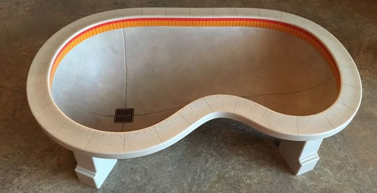 Spin Master Del Mar Swimming Pool Bowl Tech Deck Finger Skateboard Ramp Rare #SpinMaster #TechDeck #DelMar #Fingerboard #Skateboard #Pool #Skatepark