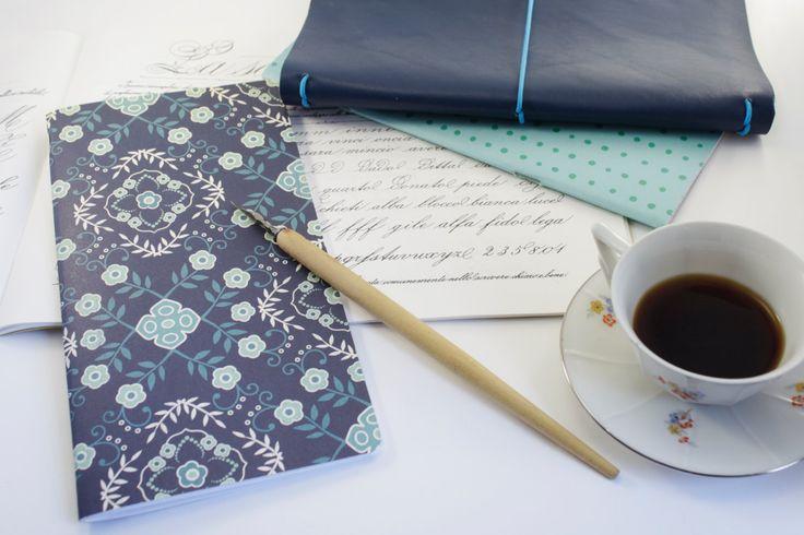 journal, midori, agenda in pelle vintage compresa di 2 notebook fantasia di ARmadeit su Etsy