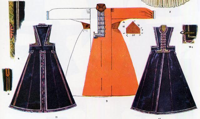 Folk Costume & Embroidery - Kalmyk people