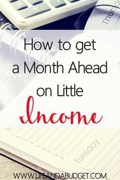 Are you sick of living paycheck to paycheck? If so, come see how you can get a month ahead on little income. It is possible!