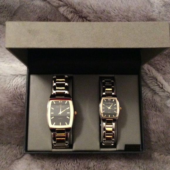 Brand new his and hers Charles Raymond watches Brand new, men's and woman's, adjustable, Charles Raymond New York watches Accessories Watches