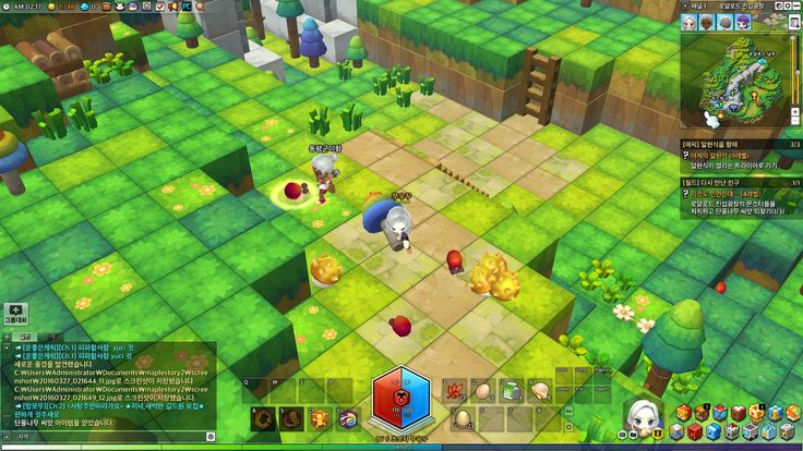 MapleStory 2: Interactions with Other Players 1