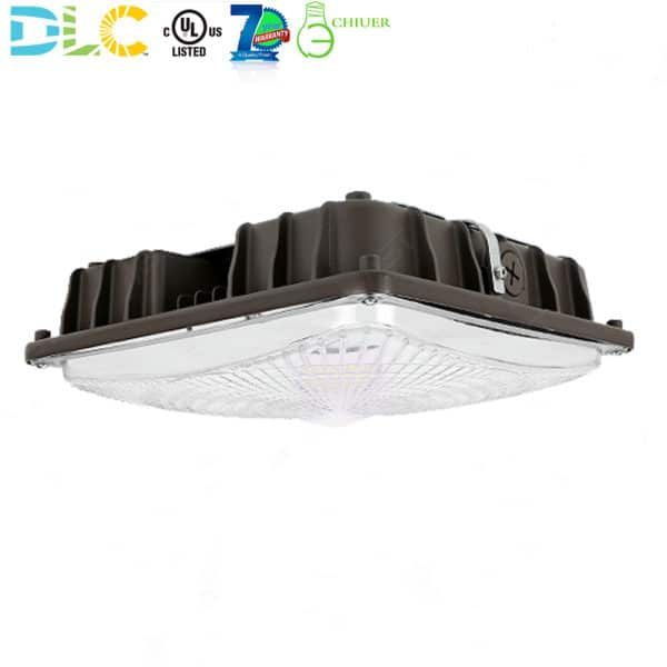60w Led Canopy Light Fixtures For Gas Station Parking Garage 5000k Canopy Lights Led Garage Lights Light Fixtures