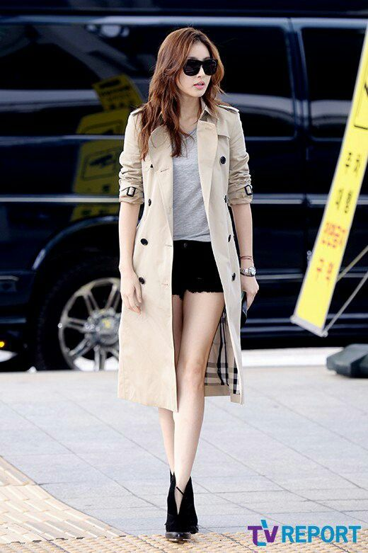 I love Kang Sora and her airport fashion #teukso