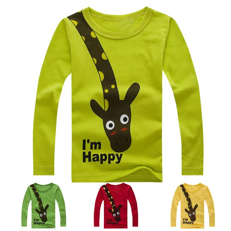 Summer Style Long Sleeve T-shirts For Girls Boys Clothes Baby Children's Clothing For Boy Kids Brand T Shirts Clothes tshirts