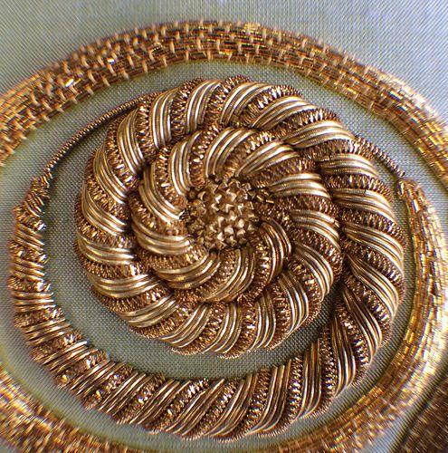 Basic Goldwork - Jess Lee   Love Stitch!   Flickr
