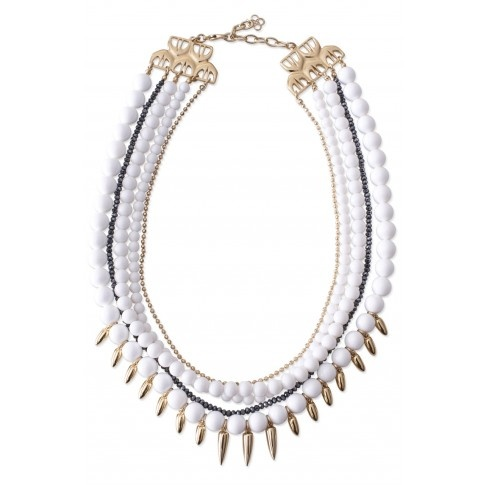 No matter what your school colors - this Stella & Dot LIMITED EDITION - Mischa Necklace will have you cheering!