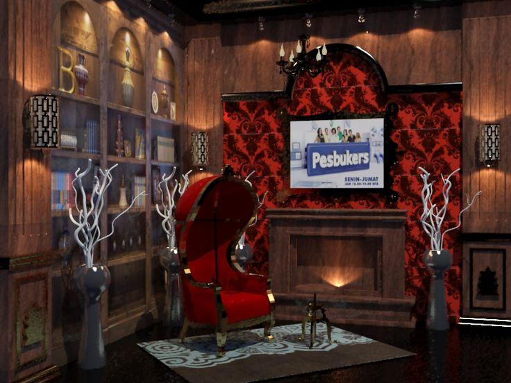 Dracula's reading room