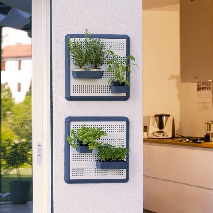 Kit Paretella Elegange 60 bianca  Paretella è il porta tutto ideale ricreare un giardino da parete. Può essere usato per piccoli fiori, piante aromatiche, verdi o grasse. Può essere utilizzato sia all0'interno che all'esterno su terrazze e balconi