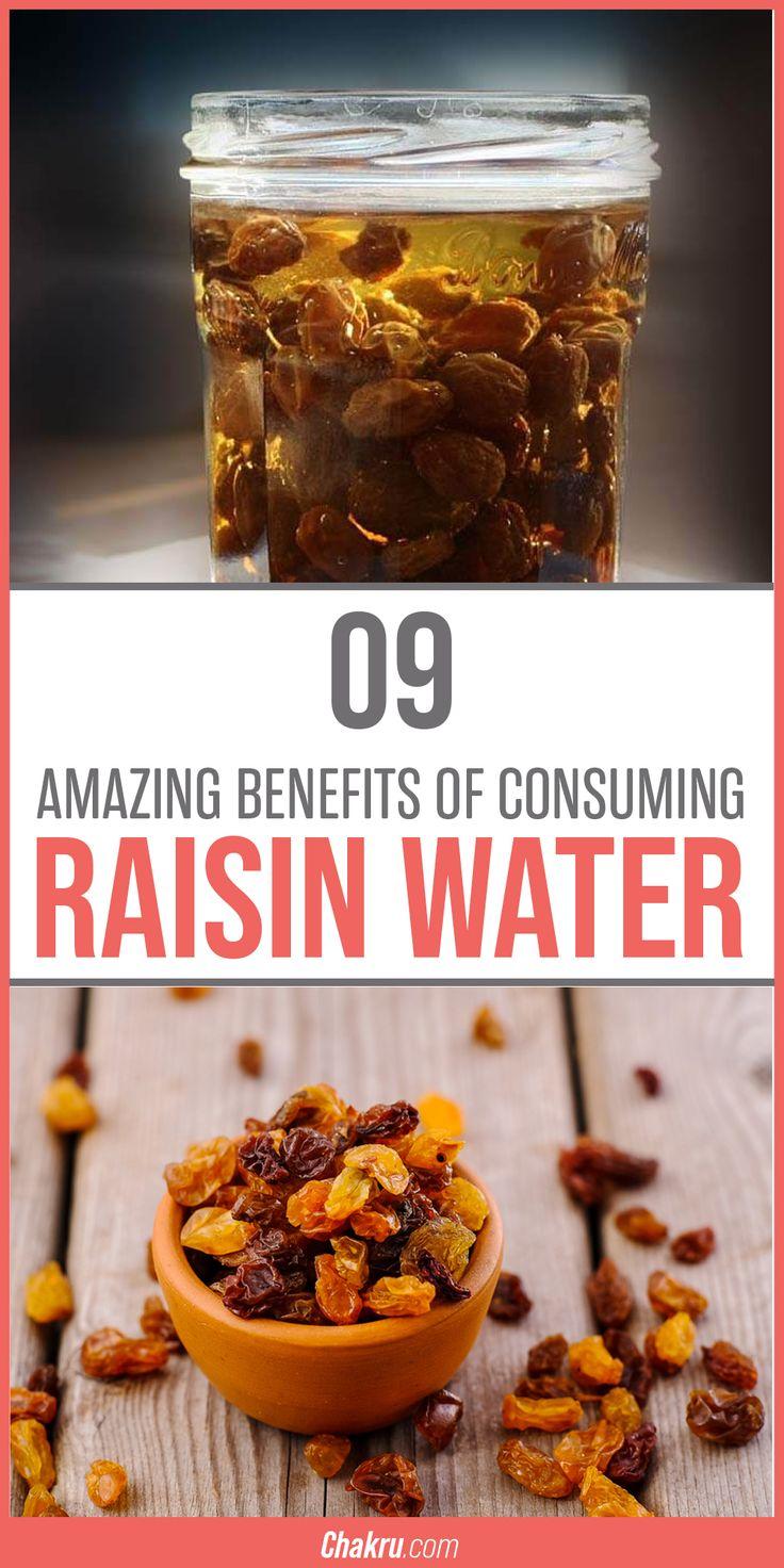 9 amazing benefits of consuming raisin water raisin