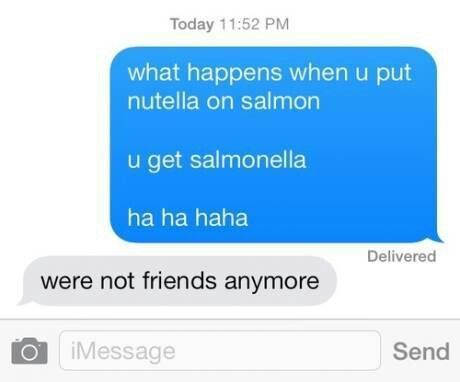 how to make your friends laugh over text
