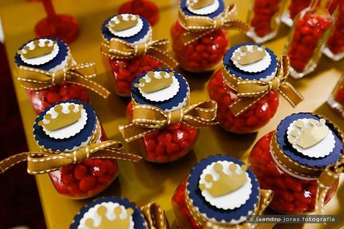 Royal Prince 1st birthday party via Kara's Party Ideas KarasPartyIdeas.com Cake, decor, cupcakes, favors, printables, and more! #princeparty #royalprince #littleprince (10)
