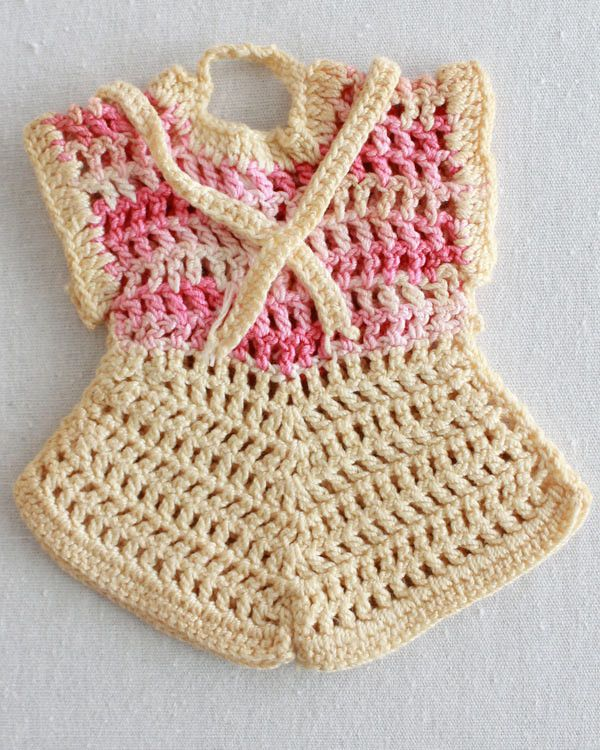 Vintage Romper Potholder Crochet Pattern