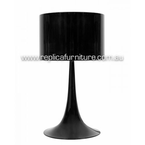 Replica Sebastian Wrong Spun Bedside Light Black