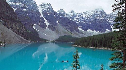 Lake Louise ved Banff Nationalpark - Canada