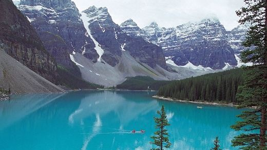 Lake Louise ved Banff Nationalpark - Canada