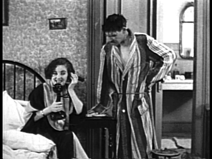 """""""Cook, Papa, Cook"""" - lost 1928 silent comedy film  A Mr. & Mrs. oversleep, then the Mr. attempts to make his Mrs. breakfast in bed before heading off to work. A lost silent comedy that turned up on eBay in 2011 without its opening titles, and one of the last films made by Henry Murdock (he choked to death unexpectedly at the end of 1928). Musical score by Ben Model ©"""