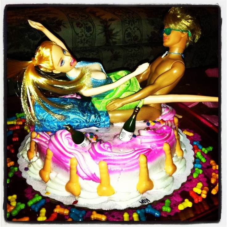 Bachelorette Cake Fun .. Made this for my sisters Bachelorette, so funny!!