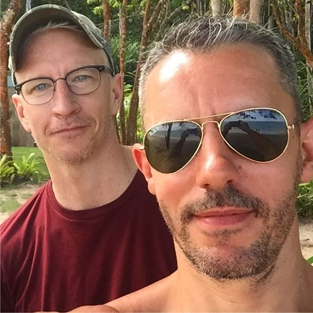 Anderson Cooper and partner Benjamin Maisani