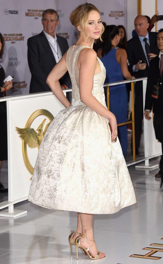 Jennifer Lawrence |.| from The Hunger Games: Mockingjay Premieres | E! Online