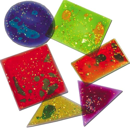 Squidgy Sparkle Shapes Set of 12 $49
