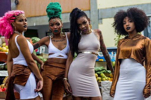 FEATURE: Brazilian photographer Bruno Gomes heads to Rio's The Rocinha district for 'DONA' fashion editorial - AFROPUNK
