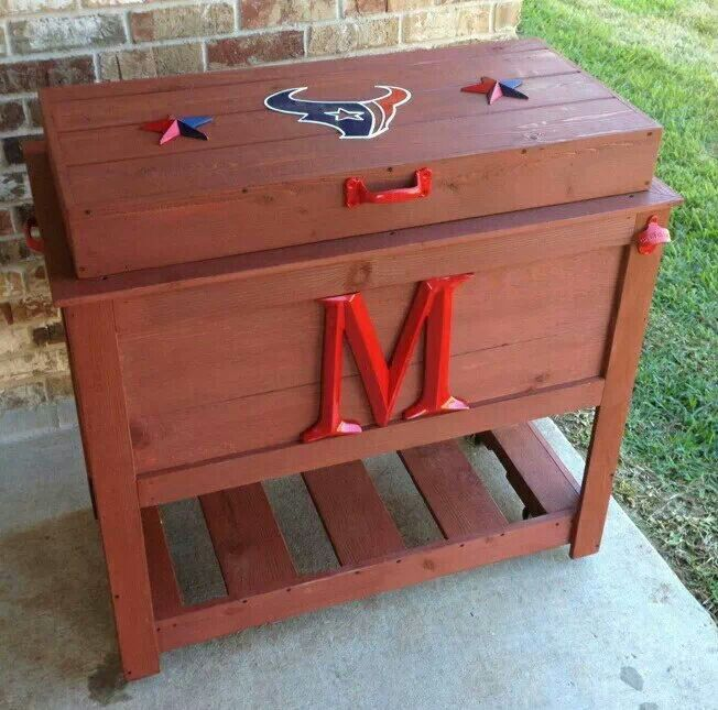 Good Houston Texans Cooler / Ice Chest