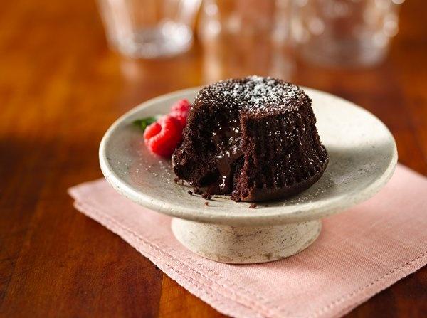 Gluten Free Molten Chocolate Cupcakes | Gluten Free recipes/ideas ...