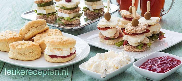 10x high tea recepten | Leukerecepten.nl