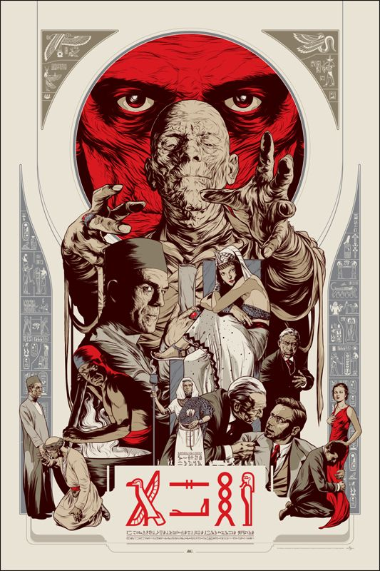 Mondo Tees Monster Posters - THE INVISIBLE MAN and THE MUMMY — GeekTyrant