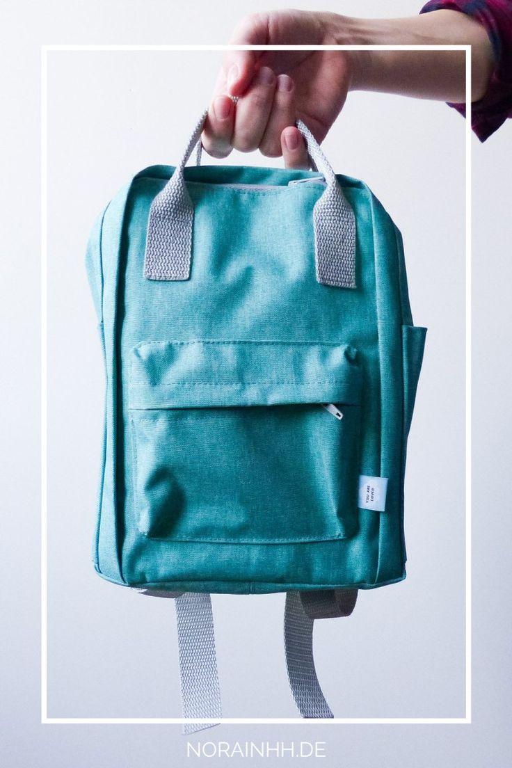 Kinderrucksack nähen nach #derandererucksack #handtasche