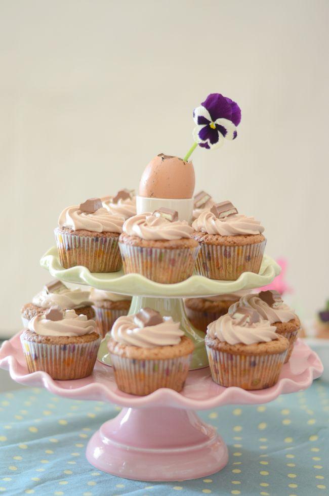 Kinder Ferrero cupcakes