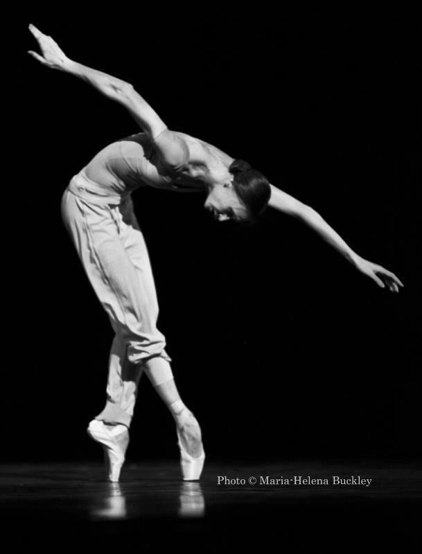 Svetlana Zakharova rehearsing Swan Lake  Photo: Maria-Helena Buckley