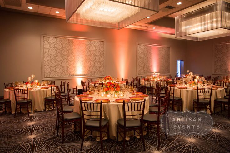 Fall Wedding Colors | Uplighting | Gene and Georgetti | Romantic Wedding | Chiavari Chairs | Rosemont Wedding